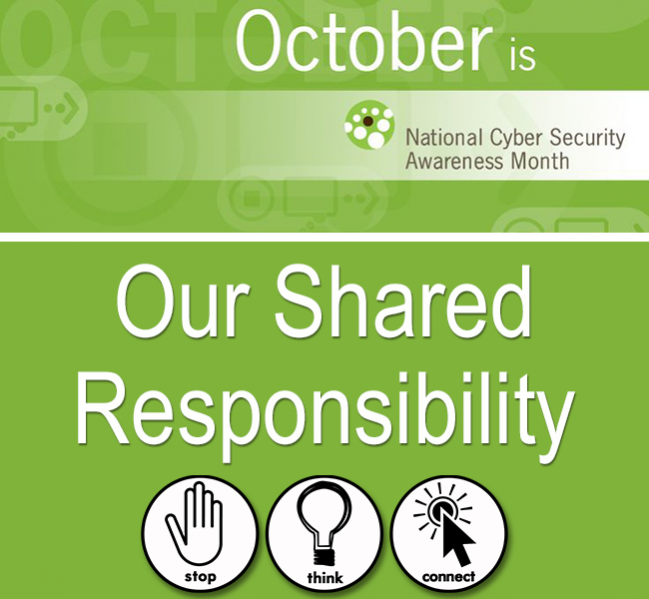 National Cyber Security Awareness Month | University of ...