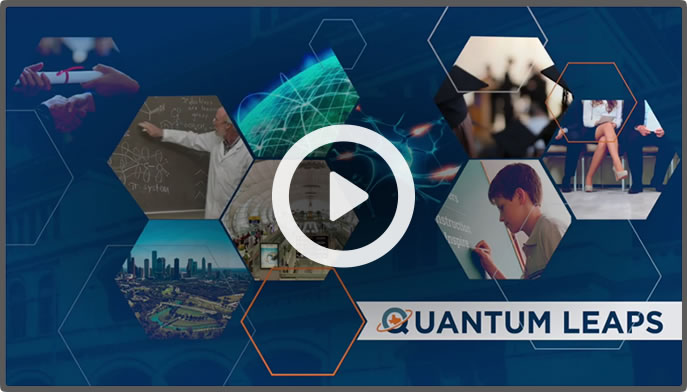 Thumbnail preview of the Quantum Leaps video.