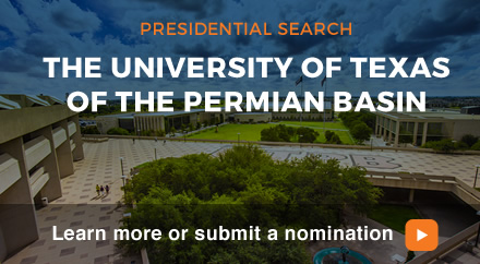 Presidential Search: UT Permian Basin. Learn more or submit a nomination.
