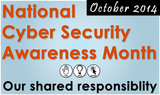 National Cyber Security Awareness Month | University of Texas System