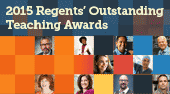 2015 Regents Outstanding Teaching Awards