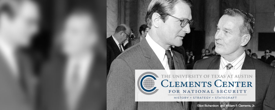 Clements Center for National Security values history, trains students for policy careers
