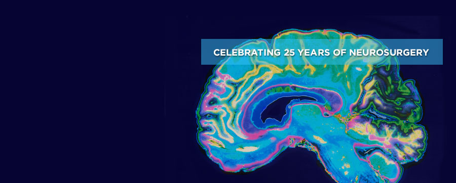 UT MD Anderson's Department of Neurosurgery celebrates 25 years of excellence