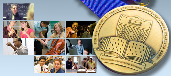 Regents' Outstanding Teaching Awards Medal