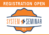 System Seminar 2016, Registration is now open