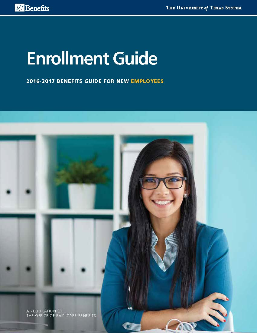 Ut Permian Basin >> Enrollment guide cover with an employee