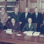 Photograph of the full Board of Regents 1962