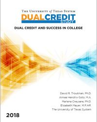 Dual Credit report cover image