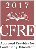 CFRE logo.  Approved for Continuing Education