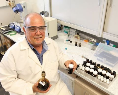 Russell Chianelli, Ph.D., a chemistry professor at UT El Paso, has patented a process that enables landfills to increase their production of methane, a gas that can be used to produce electricity or heat.