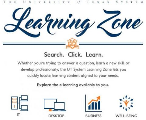 Learning Zone | University of Texas System