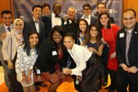Current Archer Fellows and Archer Fellow alumni with Archer Center professor Dr. Joel Swerdlow